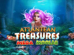 Atlantean Treasures Mega Moolah  logo arvostelusi