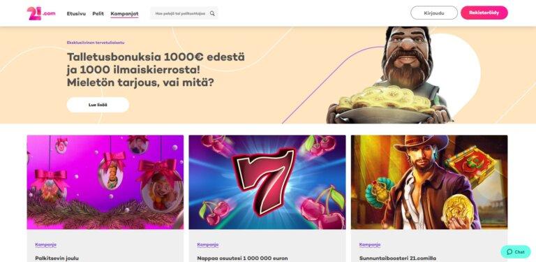 21.com Casino Kuvankaappaus 3