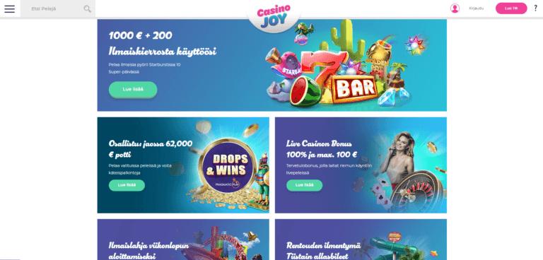 Casino Joy Kuvankaappaus 2