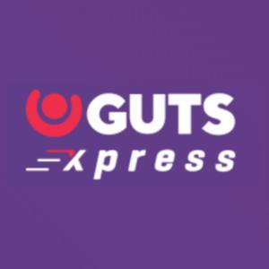 Guts Xpress side logo Arvostelu