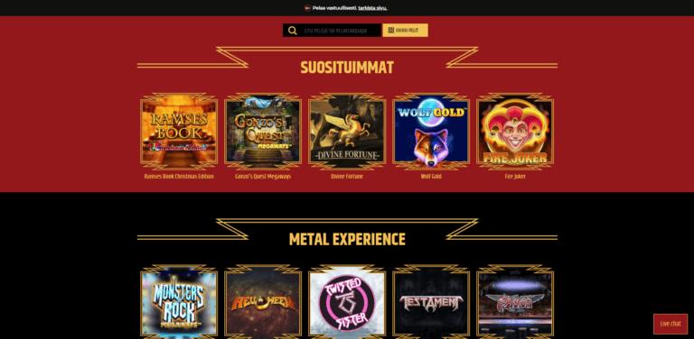 Metal Casino Kuvankaappaus 3