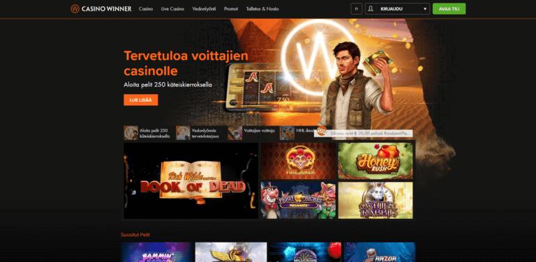Casino Winner Kuvankaappaus 1