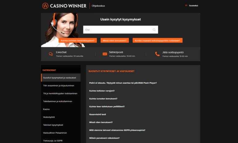 Casino Winner Kuvankaappaus 2