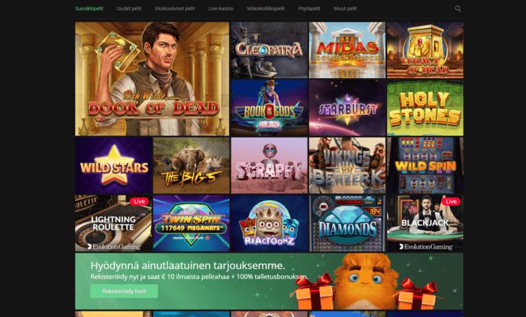 One Casino Kuvankaappaus 3