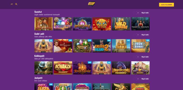 Lucky Casino Kuvankaappaus 3