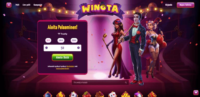 Winota Casino Kuvankaappaus 1