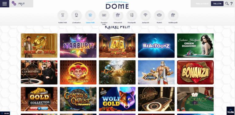 Casino Dome Kuvankaappaus 3