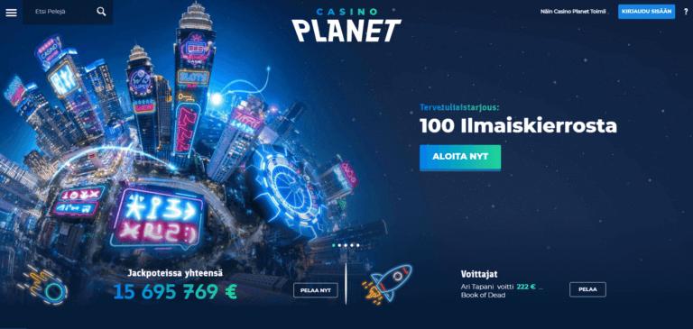 Casino Planet Kuvankaappaus 1