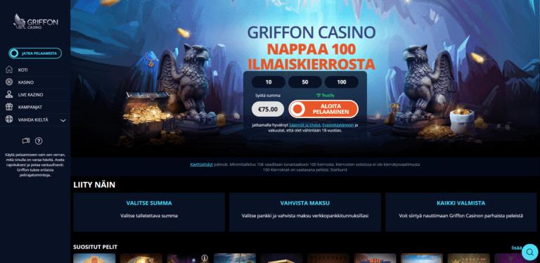 Griffon Casino Kuvankaappaus 1