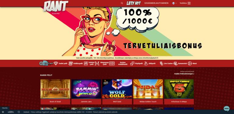 RANT Casino Kuvankaappaus 1