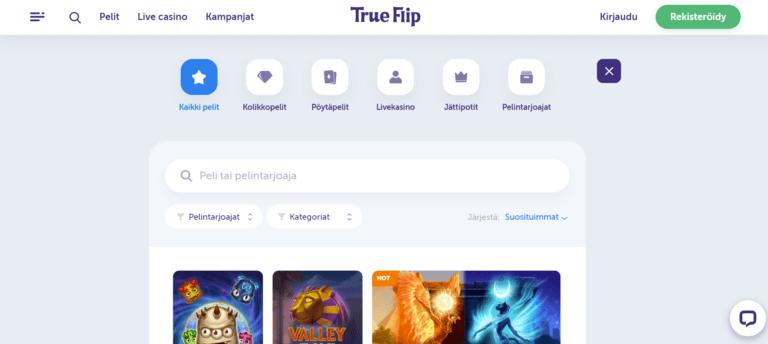 True Flip Kuvankaappaus 3