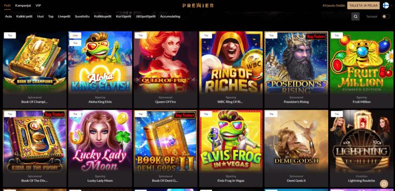 Premier Casino Kuvankaappaus 3