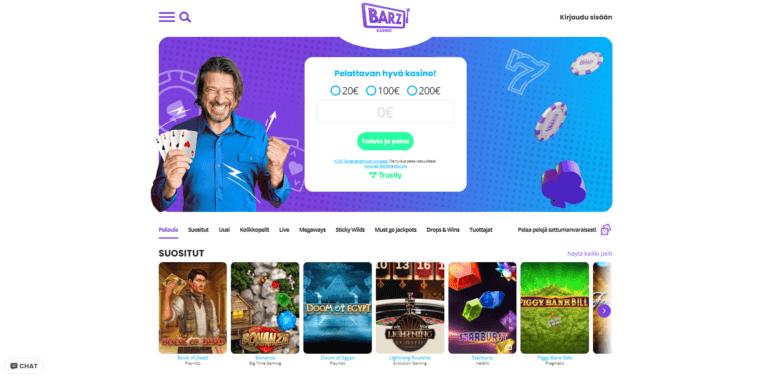Barz Casino Kuvankaappaus 1