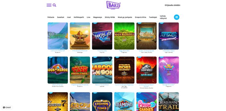Barz Casino Kuvankaappaus 3