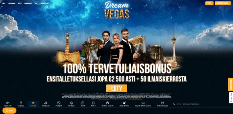 Dream Vegas Kuvankaappaus 1