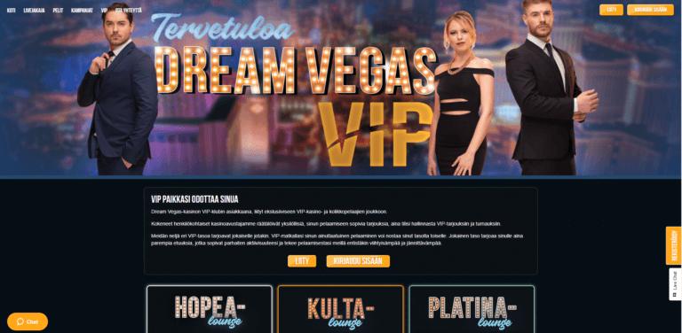 Dream Vegas Kuvankaappaus 2